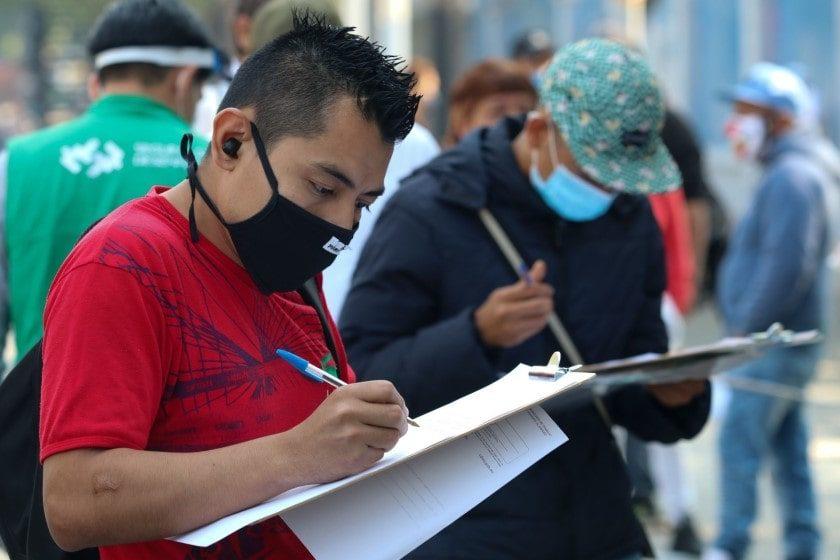 Pérdida de empleo en México por covid-19