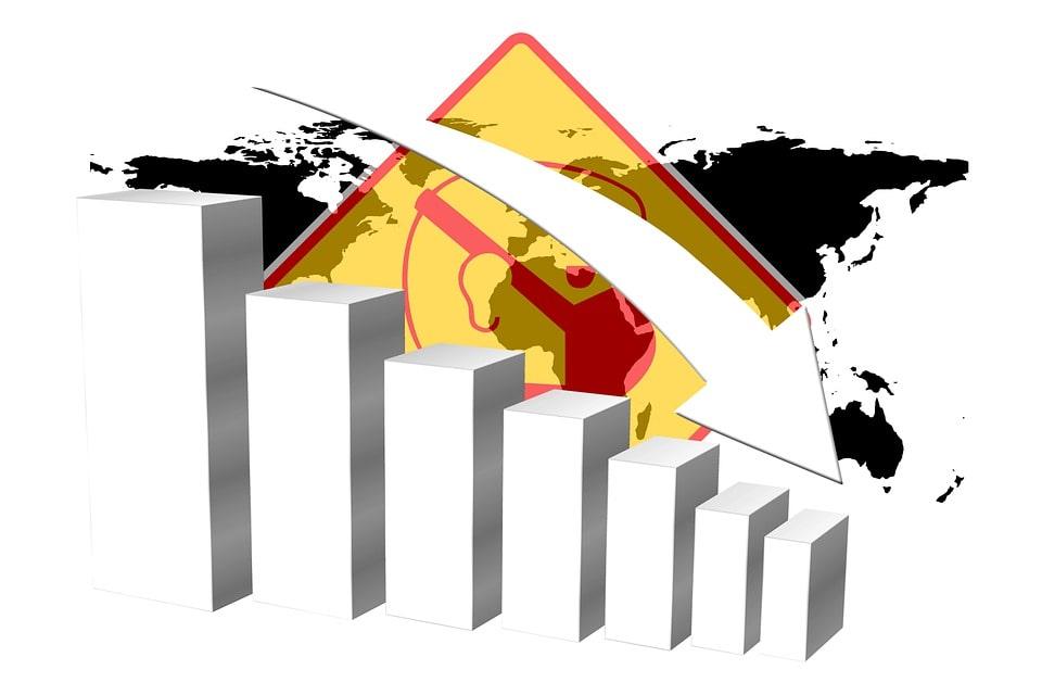 PIB mundial decrece