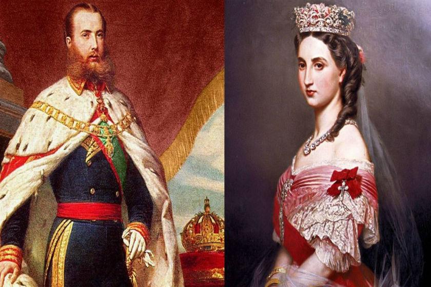 Maximiliano y Carlota de Habsburgo
