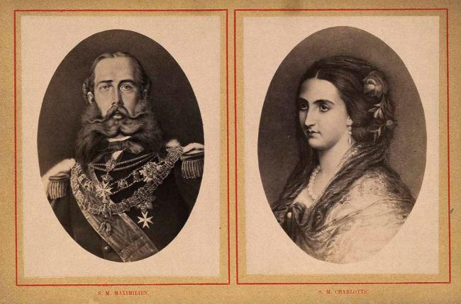 Maximiliano y Carlota de Habsburgo.