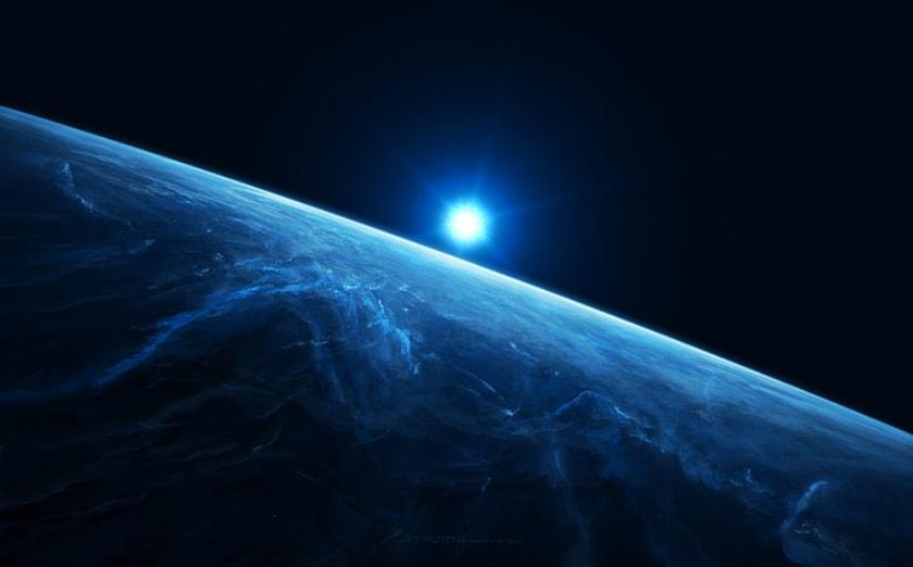 cosmos, planeta, tierra