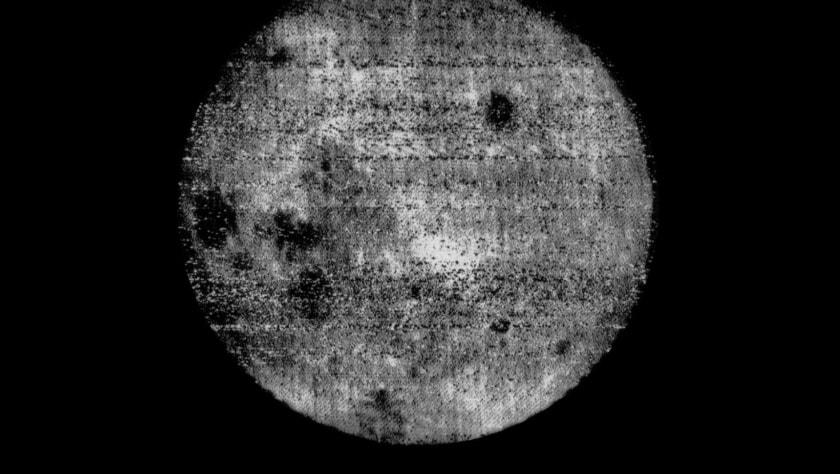 la luna, espacio