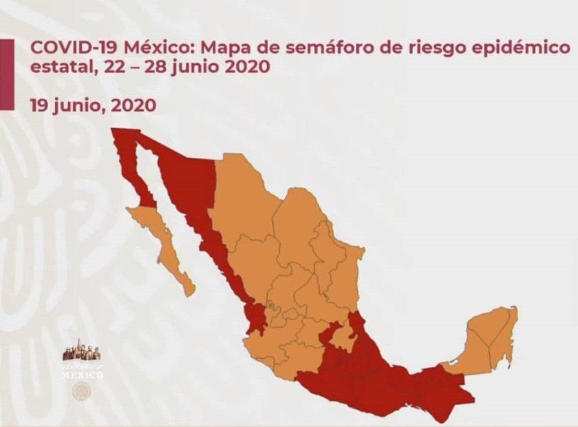 Semáforo covid en México