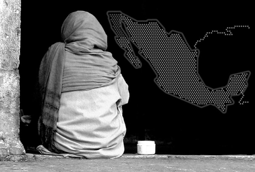 pobreza de Mexico