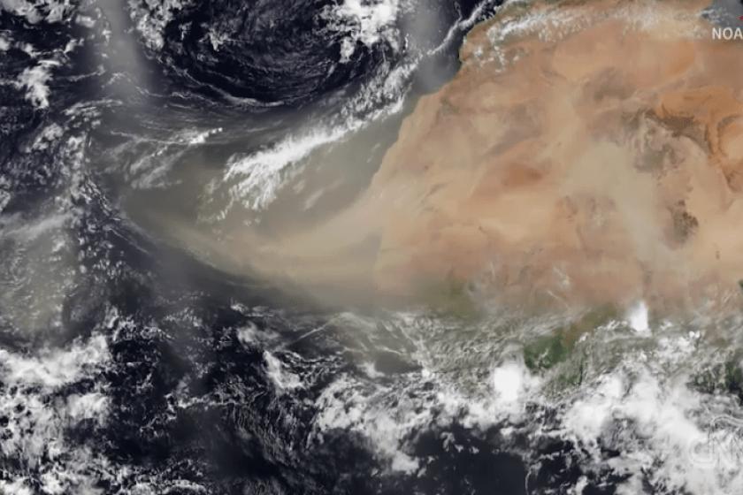 polvo del Sahara llega a México