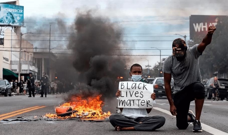 Mapa de protestas por racismo en Estados Unidos