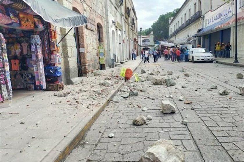 un muerto y daños en Oaxaca por sismo
