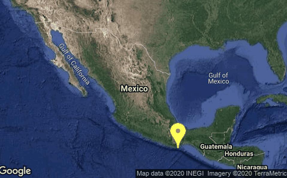 sismo 23 de junio 7.5 epicentro en Oaxaca