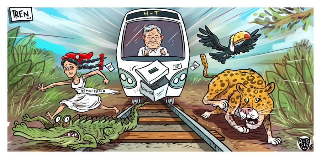 tren maya, peligro para la tierra