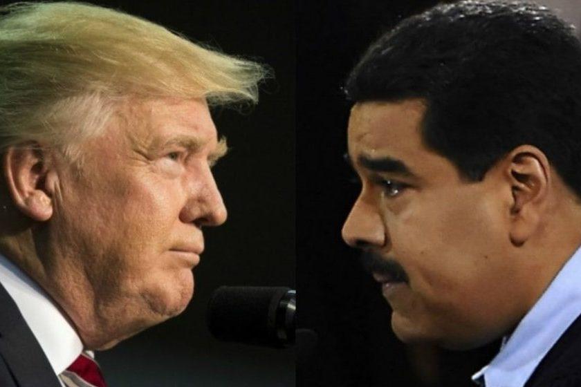 Reunión entre Trump y Maduro