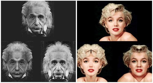 Einstein y Marilyn