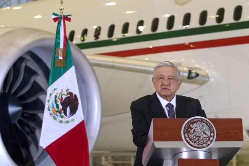 avión presidencial de Peña Nieto