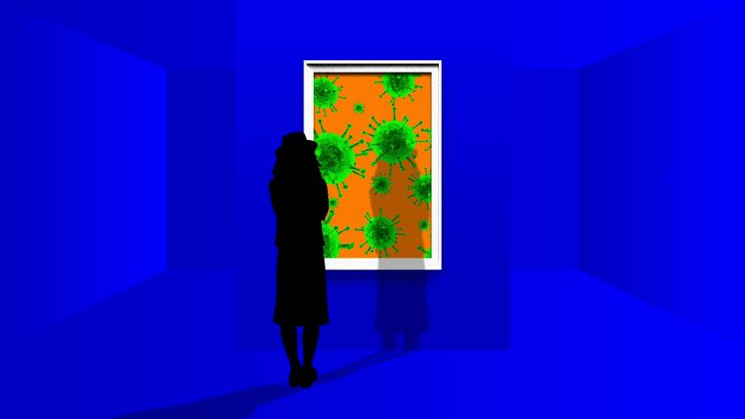 arte y coronavirus, cuadro covid-19