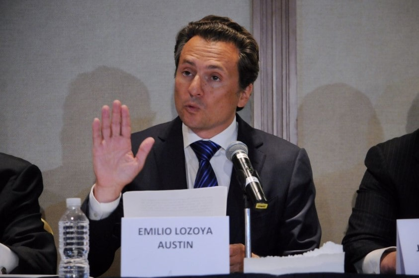 Extradición de Emilio Lozoya a México