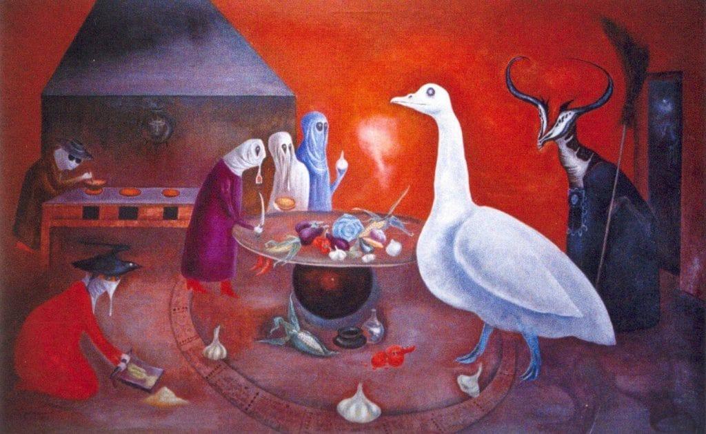 Leonora Carrington y el mole