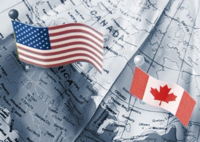 Comercio de Canadá con Estados Unidos