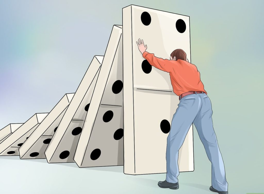 domino, cambiar la meta