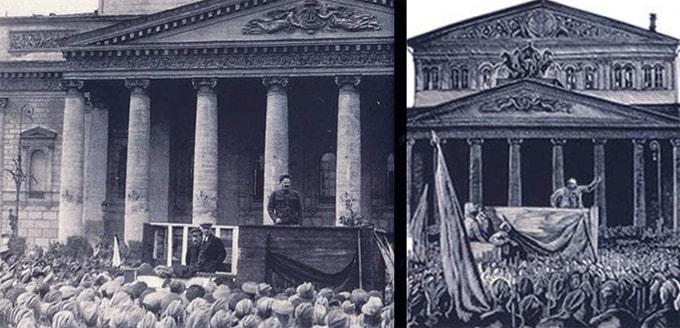 censura Stalin quita a Trostsky de pelicula Octubre