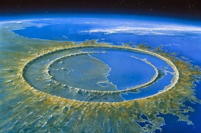 crater de Chicxulub.