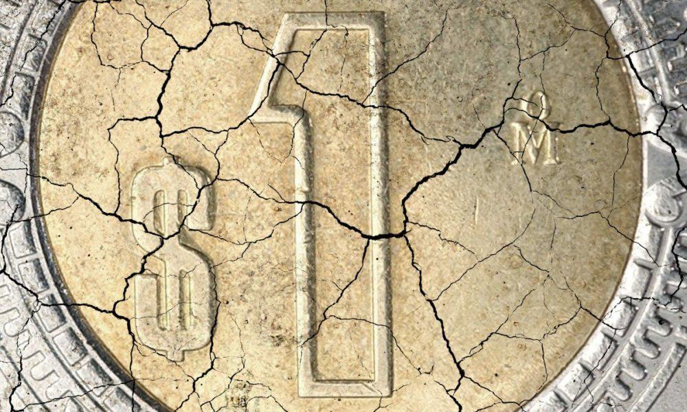 Caída histórica de crecimiento económico