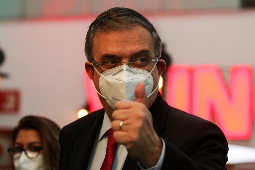 Marcelo Ebrard vacuna contra el coronavirus