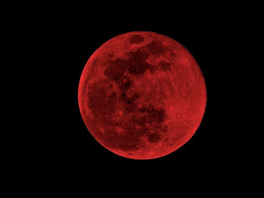 Eclipse lunar 2020 en México