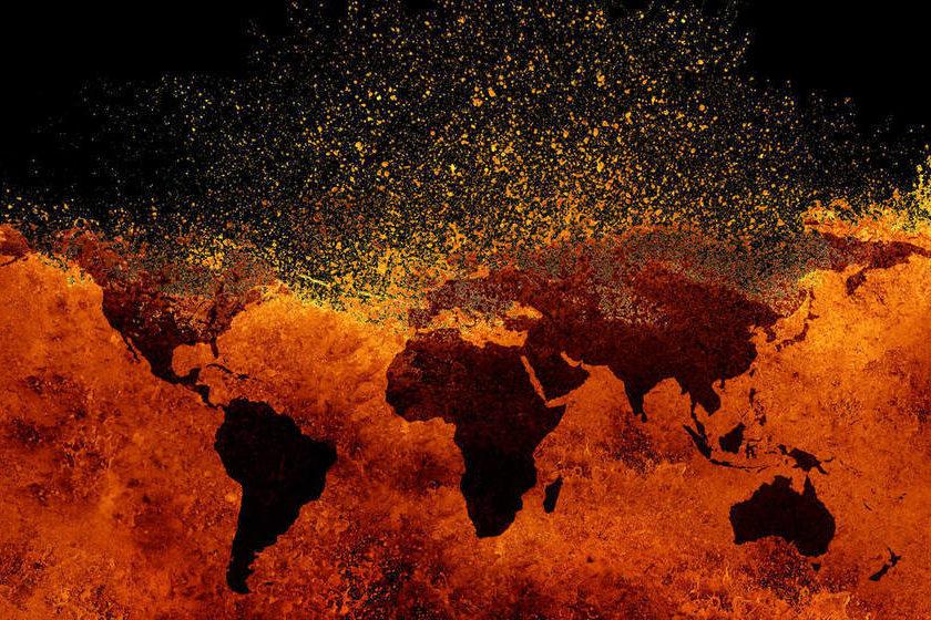 el mundo y covid-19