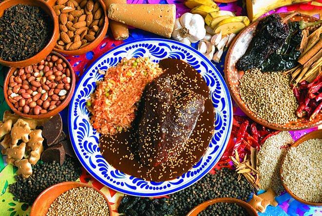 el mole, cocina mexicana