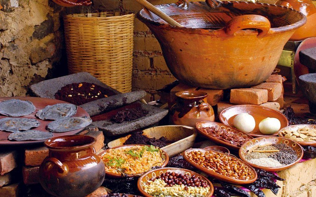 mole, comida mexicana