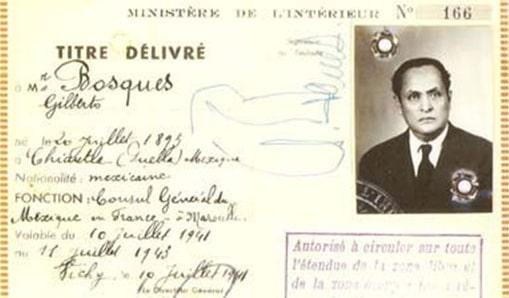 Gilberto Bosques Saldivar, consulado