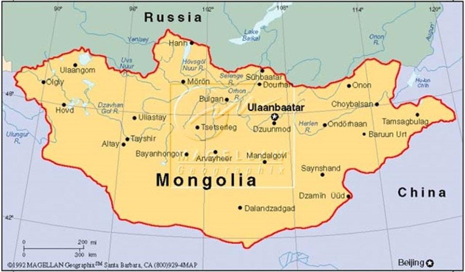 Brote de peste negra en Mongolia