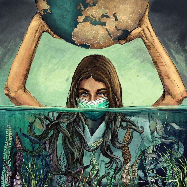planeta Tierra y covid-19