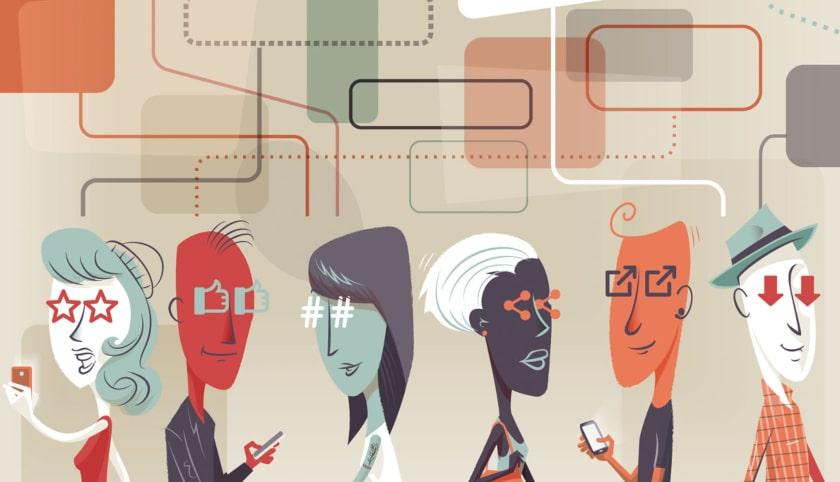 redes sociales, conducta de la gente