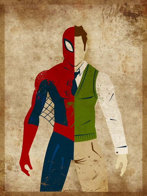 Spiderman, Peter Parker