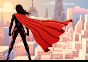 superwoman, superheroes