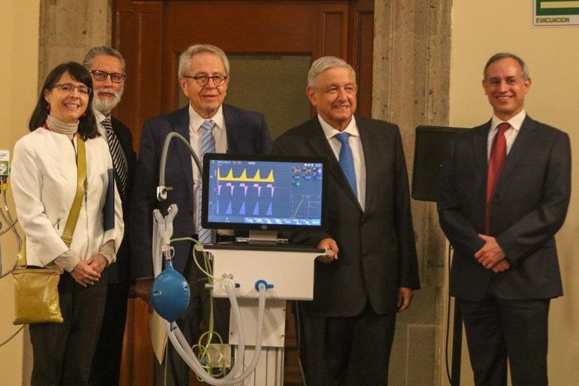 ventiladores médicos creados en México