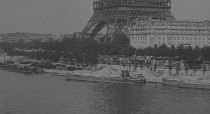 torre Eiffel y el Sena