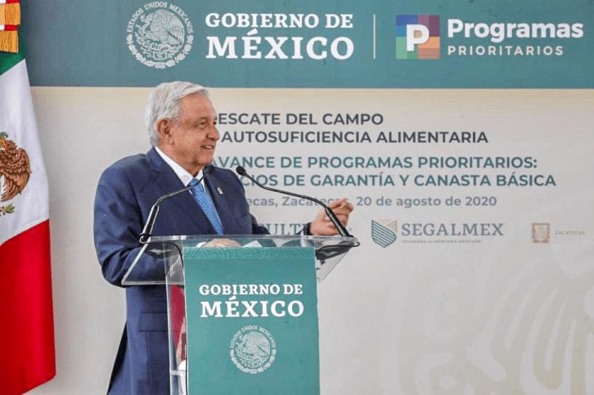 AMLO gira en Zacatecas, Sader