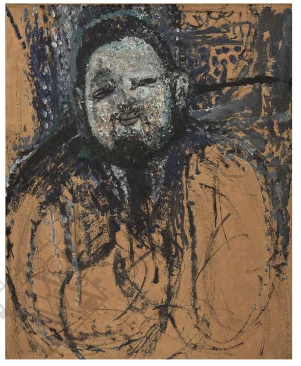 Modigliani. Retrato de Diego Rivera