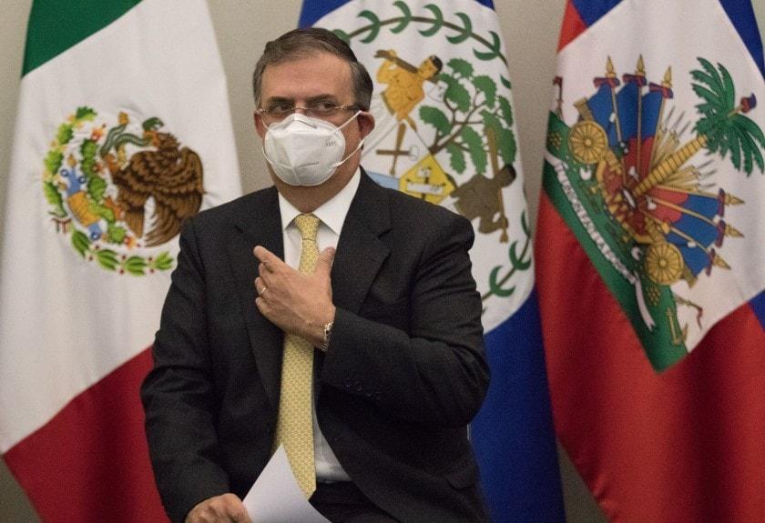 Marcelo Ebrard busca vacuna covid en México