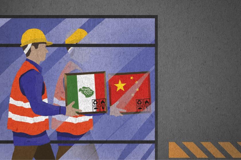 TLCAN Mexico replica China