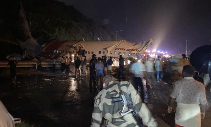 accidente de avión Air India Express