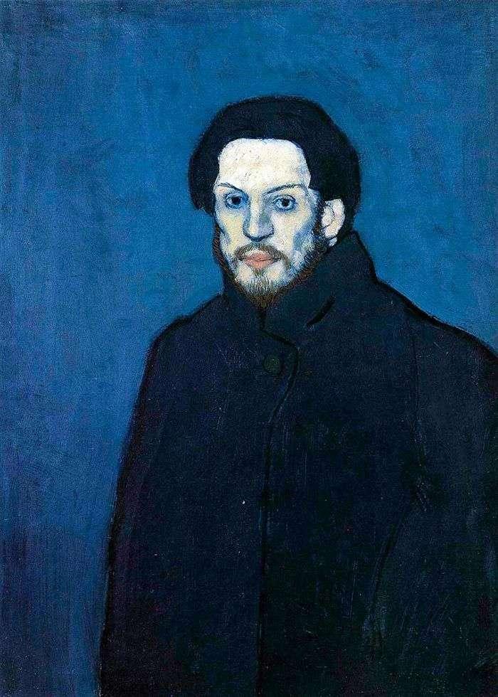 Picasso y azul