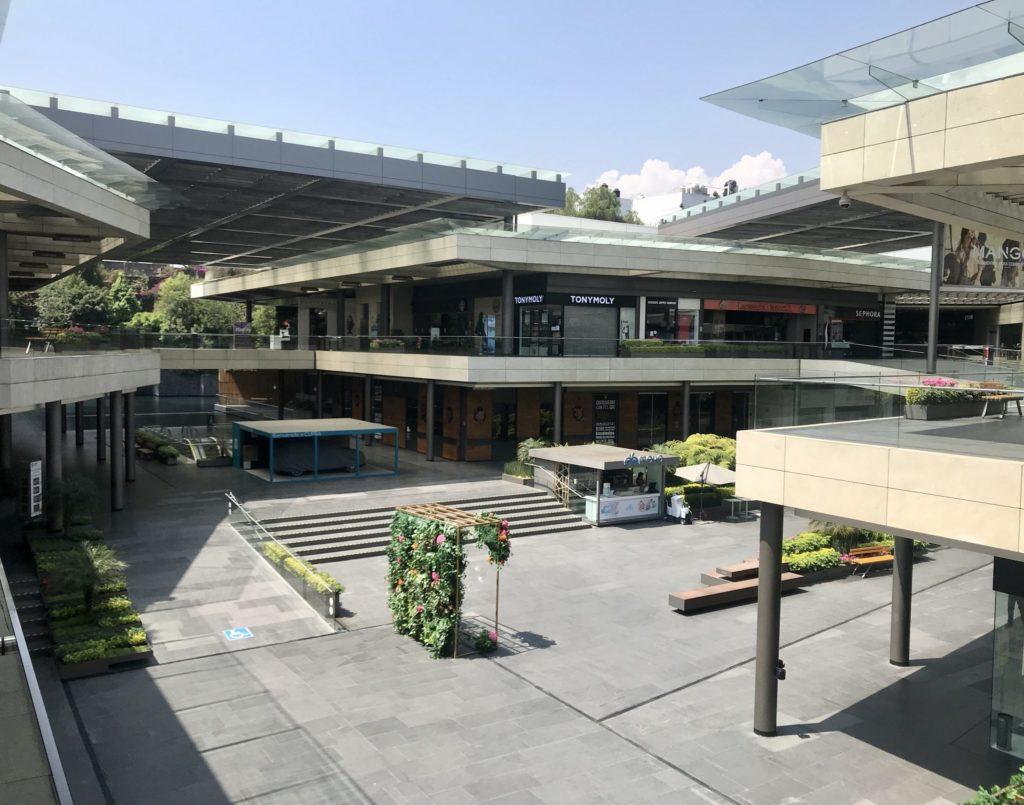 centros comerciales vacios