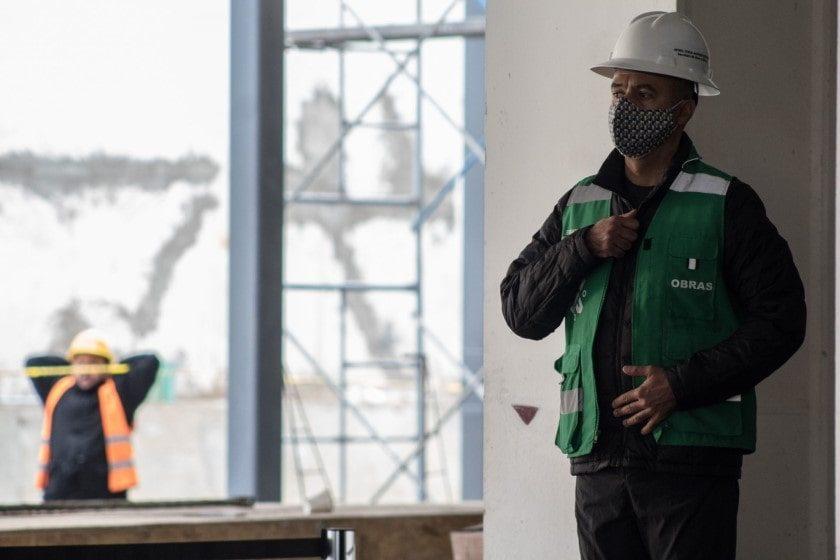 industria de la construcción tras