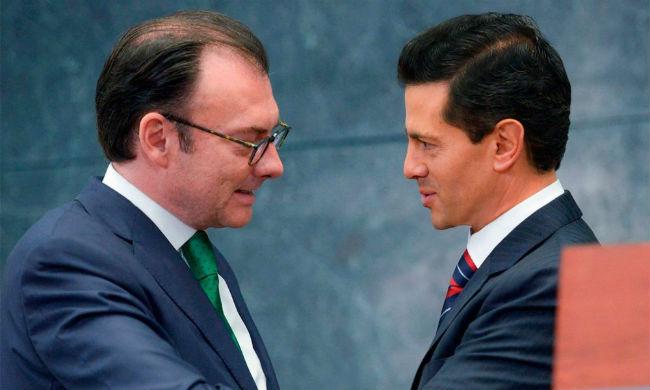 Luis Videgaray y Enrique Pena Nieto