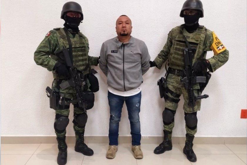 detención de El Marro líder del huachicoleo