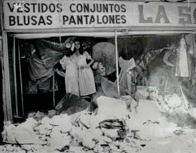 taller destruido