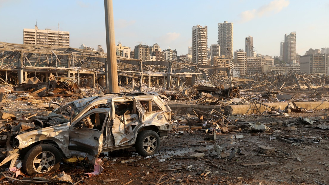 Explosión Libano, Beirut