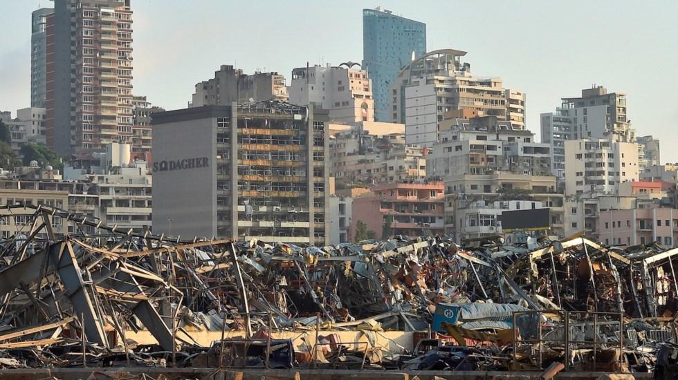 ACTUALIZACIÓN: Explosión en Beirut suma más de cien muertos
